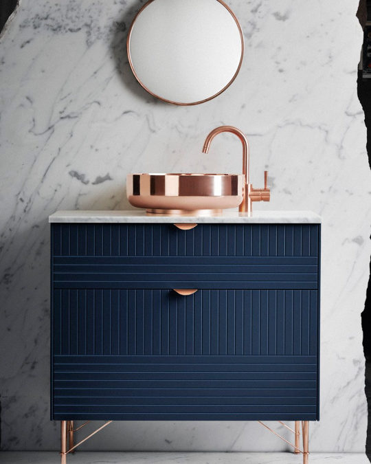 Metallics: 3 ways with copper